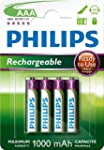 4 x PHILIPS HOME PHONE RECHARGEABLE 1...