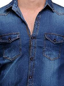 Feed Up Men's Denim Shirt
