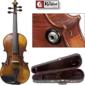 Realist RV-4 Acoustic Electric 4-String Violin