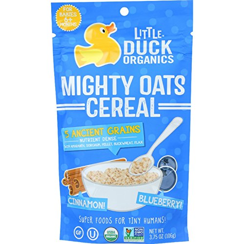 little-duck-organics-cereal-organic-mighty-oats-blueberry-and-cinnamon-age-6-months-plus-375-oz-case
