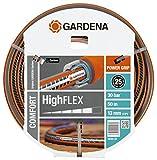 Gardena Comfort 18069-20 - Tubo Highflex, 10 x 10, 13 mm, 1/2'', 50 m, Senza componenti