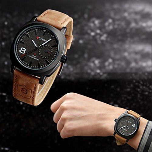 Vktech-Fashion-Curren-Men-Sport-Military-Water-Quartz-Watch-with-Leather-Strap-Black-