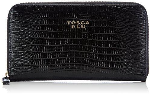 Tosca BluCARAMEL - Portafoglio donna , Nero (Schwarz (BLACK C99)), 20x11x3 cm (B x H x T)
