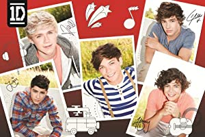 One Direction 304 Pieces Poster Puzzle Styles May Vary from One Direction
