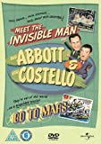 Abbott And Costello: Meet The Invisible Man/Go To Mars [DVD]