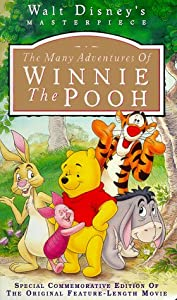 The Many Adventures Of Winnie The Pooh Walt Disneys Masterpiece Vhs by Walt Disney Home Video