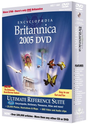 Britannica DVD 2005 Ult Ref Suite Winmac (Encyclopaedia)