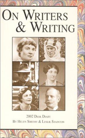 On Writers & Writing Desk Diary 2002