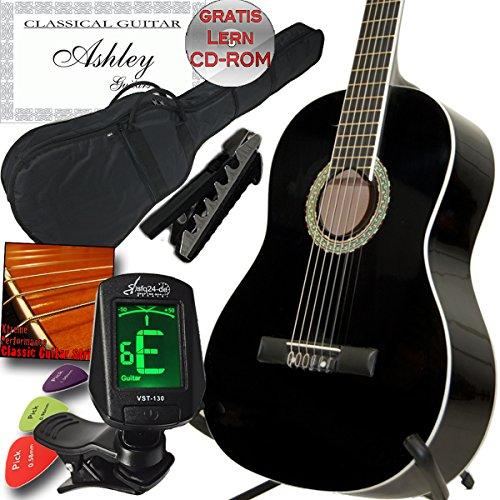 ashley-guitars-guitare-seche-classique-pour-gaucher-avec-housse-accordeur-capodastre-jeu-de-cordes-3