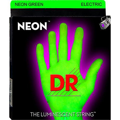 Dr Strings Neon Hi-Def Green Superstrings Heavy Electric Guitar Strings