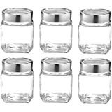 Famacart Tea Sugar Home Kitchen Containers Jar, 300, Set Of 6 Pcs