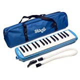Stagg MELOSTA32BL 32 Note Melodica with Case Blue