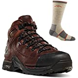 Danner 37510 453 Men's Outdoor Hiking Boot Brwn - With Free Darn Tough Socks