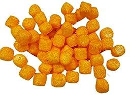Sugared MINI Marshmallows Orange 1 Pounds 380 Pieces