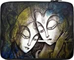 """Snoogg Radha Krishna 15"""" inch to 15.5"""" inch to 15.6"""" inch Laptop netbook notebook Slipcase sleeve Soft case cover bag notebook / netbook / ultrabook carrying case for Macbook Pro Acer Asus Dell Hp Sony Toshiba"""