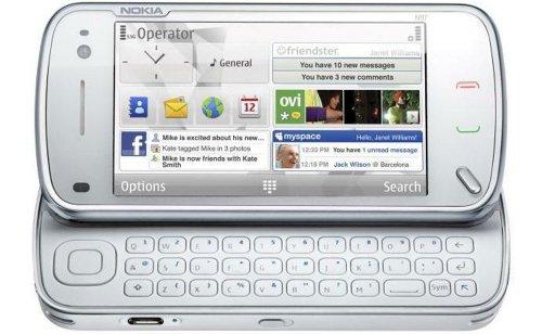Nokia N97 Sim Free Mobile Phone - White