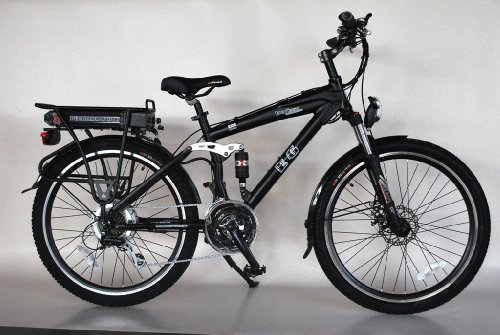EG Bali 350 Electric Bicycle - Matte Super Black