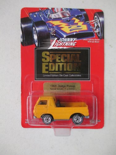 Johnny Lightning Special Edition 1 of 5000 1965 Dodge Pickup Orange
