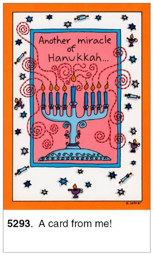 Oatmeal Studios Humorous Hanukkah Cards, A Card
