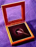 Glass Top Wooden Coin Box - Airtite