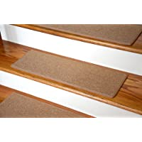 Dean Non-Slip Tape Free Pet Friendly DIY Carpet Stair Treads/Rugs 27