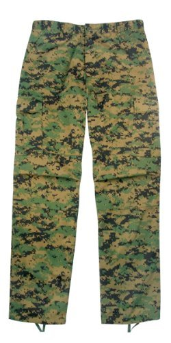 Rothco 8675 ULTRA FORCETM BDU PANT - WOODLAND DIGITAL, Small-Regular (27-31