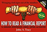 How to read a financial report:wringing vital signs out of the numbers