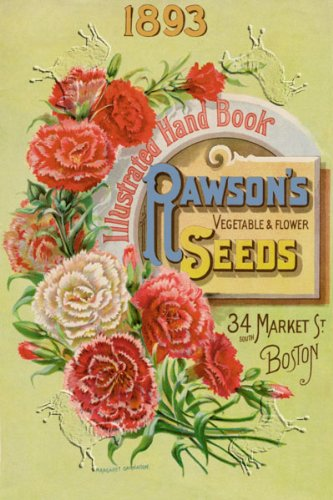 Art Poster, Rawson's Vegetable and Flower Seeds - 12x18