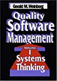 cover of Quality Software Management: Systems Thinking