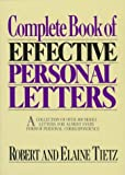 Complete book of effective personal letters /