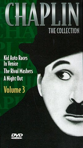 Cover art for  Chaplin - The Collection, Vol. 3 - Kid Auto Races in Venice / The Rival Mashers / A Night Out