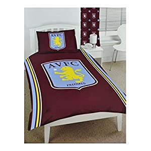 Aston Villa Football Club Official Single Duvet Cover