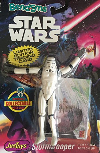 Star Wars Bend-ems Stormtrooper Bendem Figure By Justoys