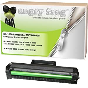 ML-1660 kompatibel für Samsung MLT-D 1042 S/ELS SCX-3200 SCX-3200 W SCX-3205 SCX-3205 W ML 1660 ML-1660 N ML-1665 ML-1666 ML-1670 ML-1675 ML-1860 ML-1865 ML-1865
