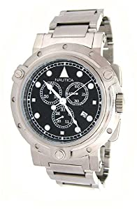 Nautica Men's N27500G Metal Round Chronograph Watch