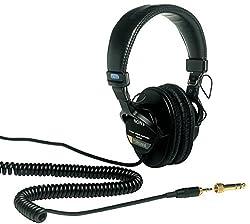 Sony MDR-7506 On-Ear Professional  Headphones (Black)