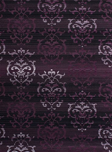 United Weavers of America Dallas Countess Rug, 8 x 10', Plum (United Weaver Rugs compare prices)