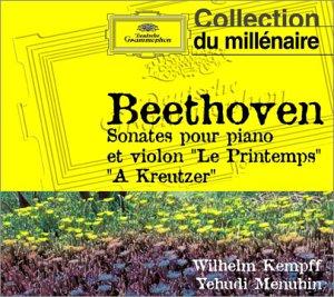 """Beethoven : Sonates pour violon et piano """"Le Printemps"""" - """"à  Kreutzer"""""""