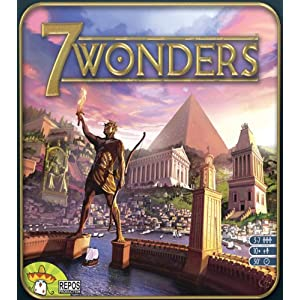Click to buy 7 Wonders Board Game from Amazon!