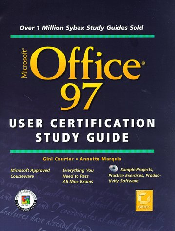Microsoft Office 97 User Certification Study Guide