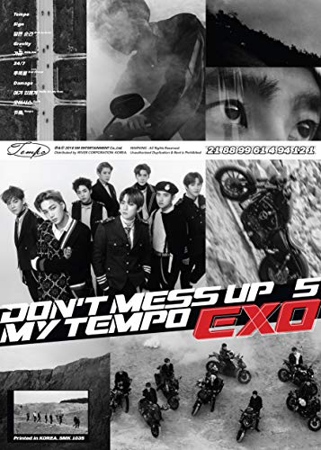 CD : Exo - EXO The 5th Album 'DON'T MESS UP MY TEMPO' (Allegro Ver.) (Photos, Poster)