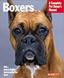 Boxers (Barron's Complete Pet Owner's Manuals)