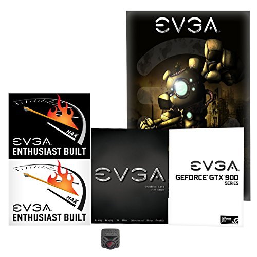 EVGA GeForce GTX 980 Ti 6GB GAMING ACX 2.0+, Whisper Silent Cooling Graphics Card 06G-P4-4991-KR