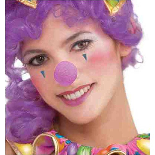 Purple Clown Nose - One SIze