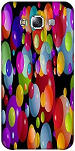 Snoogg Colorful Bubbles 2606 Solid Snap On - Back Cover All Around Protection...