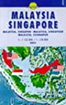 Carte routire : Malaysia, Singapore