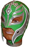 REY MYSTERIO Pro-Grade KIDS Green/Silver MASK
