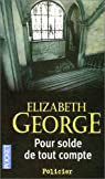Pour solde de tout compte par Elizabeth George
