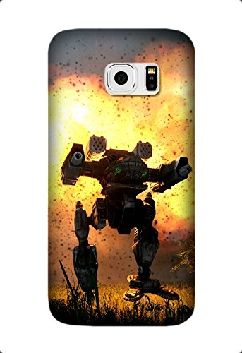 Game MechWarrior Pattern Soft TPU Case for Samsung Galaxy S7 Edge