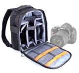 DURAGADGET High Quality SLR / DSLR Camera Backpack / Rucksack With Adjustable Padded Interior For Nikon D90, D800 & D300s